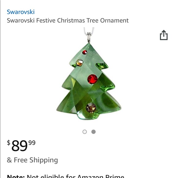 more photos 6b5c8 84566 Swarovski Christmas tree NWT